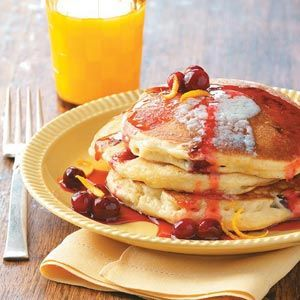 Cranberry Orange Pancakes Recipe