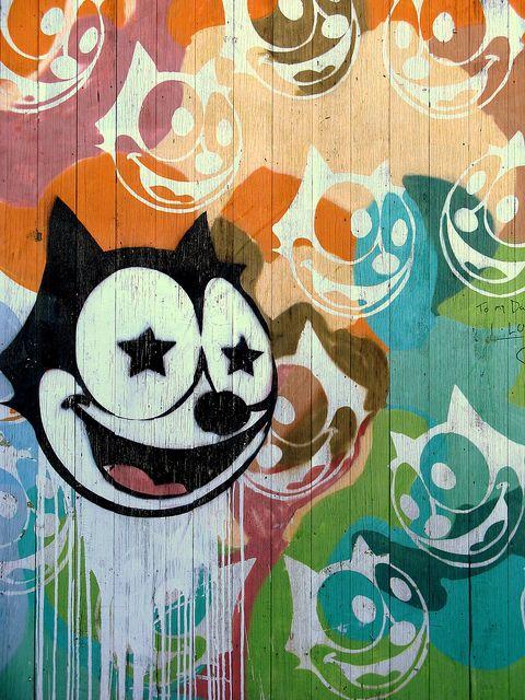 Newtown mural, Sydney. street art 000