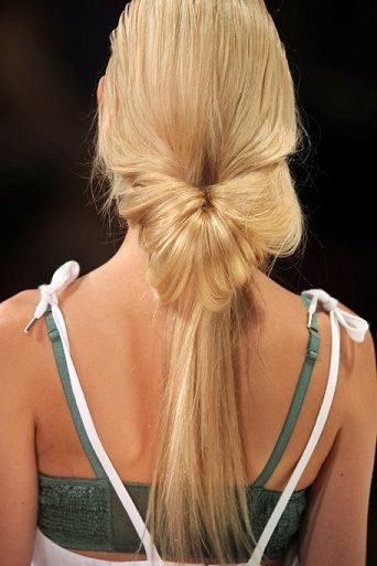 Lots of easy hairstyles for long hair.