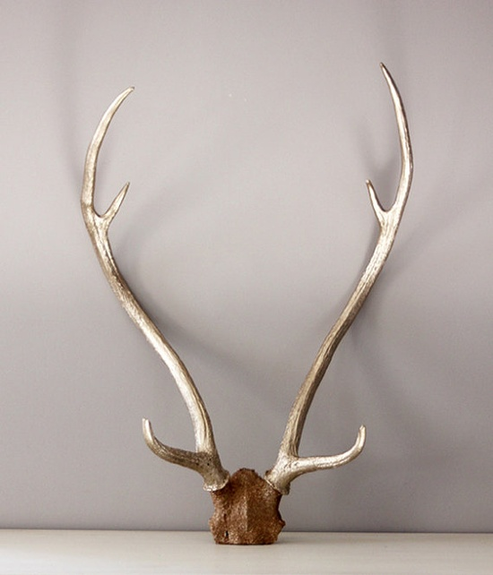 gold antlers