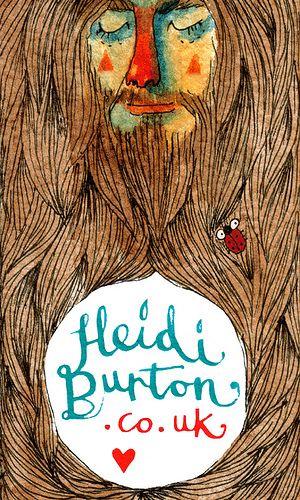 Heidi Burton - Business card design