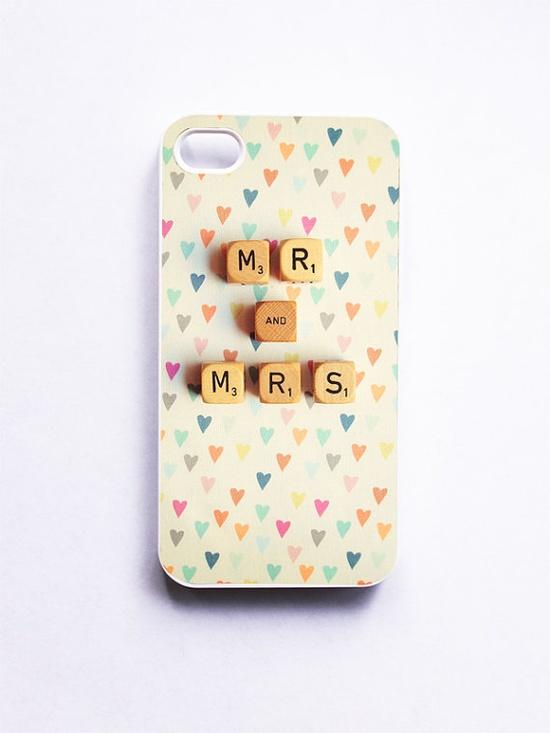 """Mr. & Mrs."" Iphone Case"