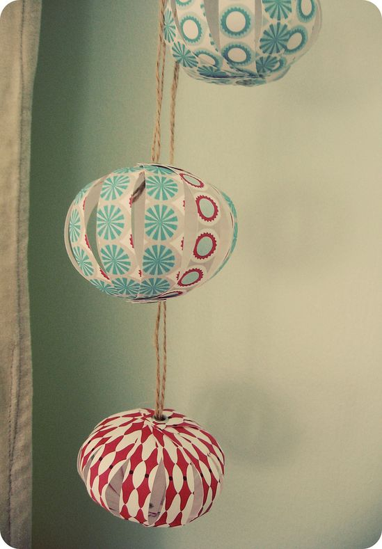 paper globes!
