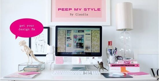 love this desk #Desk Layout