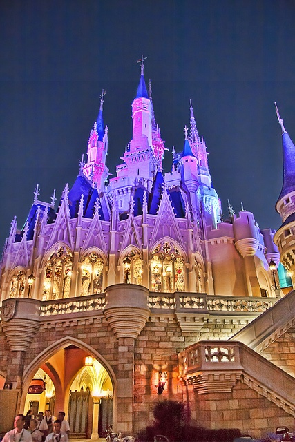 The Castle of many colors, Disney World