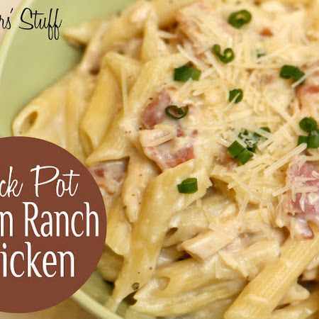 Crock-Pot Chicken Bacon and Ranch