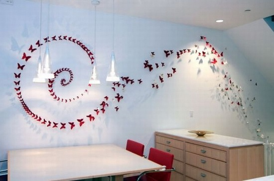 Amazing Arrays Of Butterflies Ideas For Accessories Walls, Luxury House Design, House Design, Interior House Design