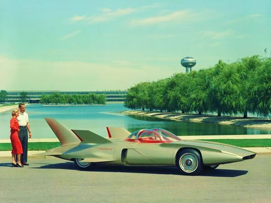 Mid Century General Motors concept car