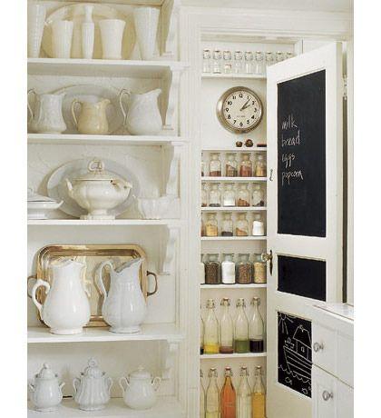 white kitchen interiors