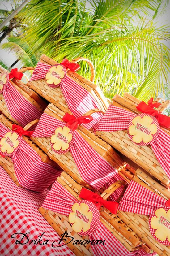 Picnic-Themed Party