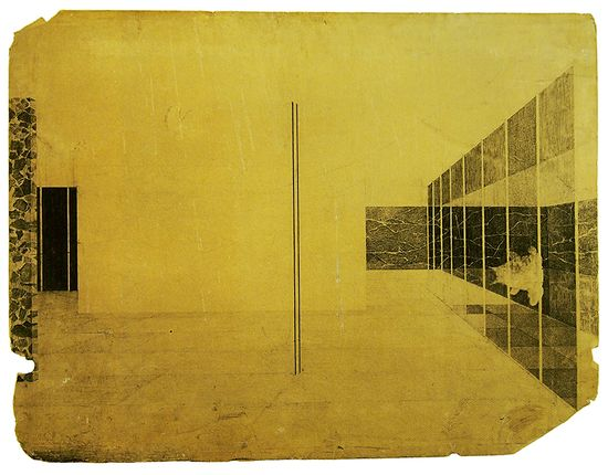 Envisioning Architecture, 1928 by Mies van der Rohe