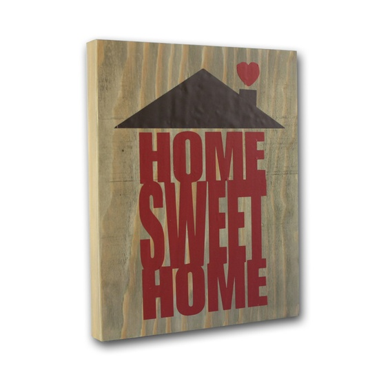 Home Sweet Home Vinyl Decor