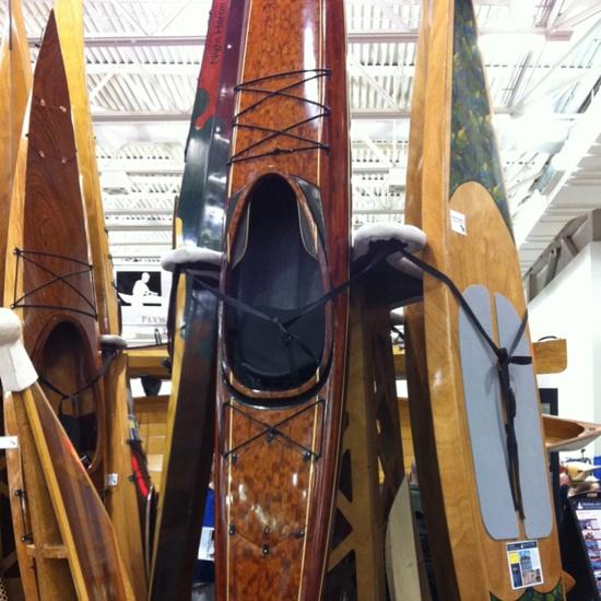 #Paddling #Canoecopia #Chesapeake Light Craft kayaks Gobsmacking