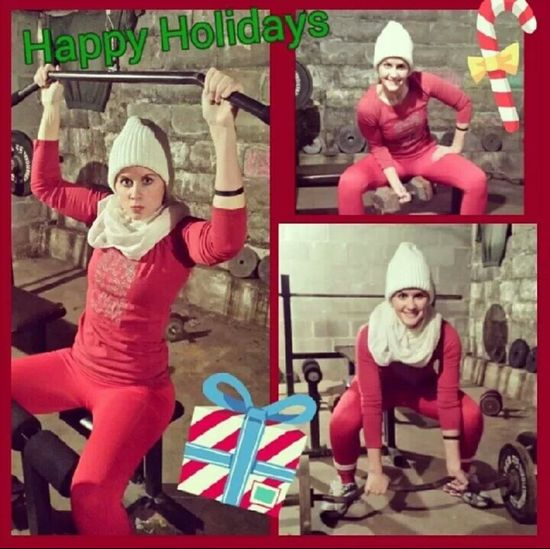 Day 4***Elfie works out. #reallifeelfontheshelf #mistyhaleysteph