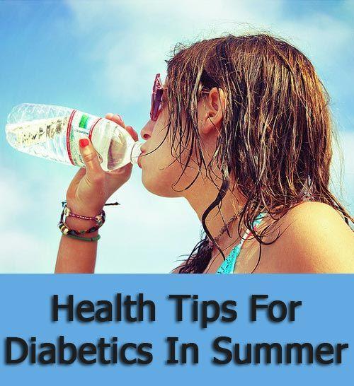 Health Tips For Diabetics In Summer