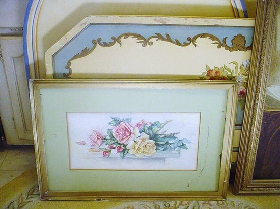 Victorian Roses Water Color Painting    ...BTW,Please Check this out:  artcaffeine.imobi...
