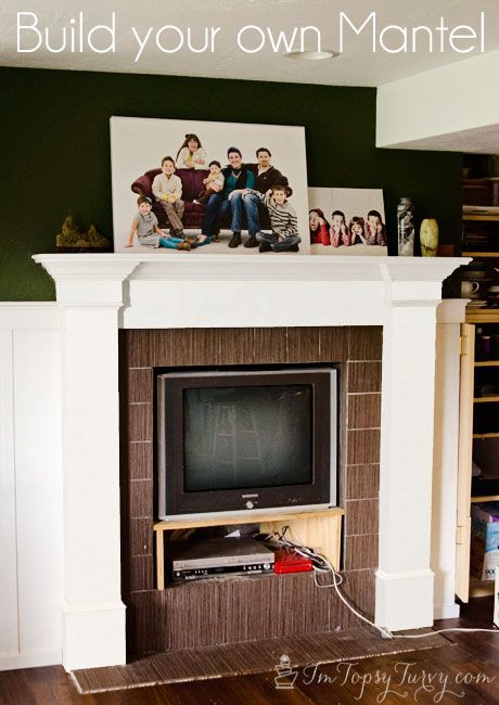 Im Topsy Turvy: Build your own Mantel