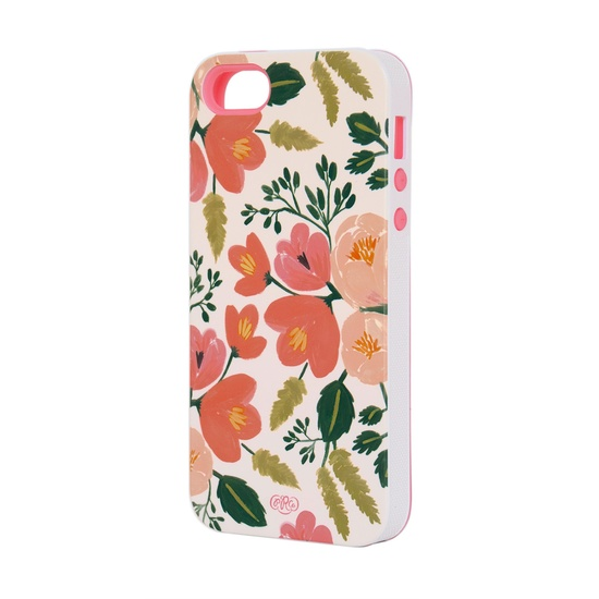 Botanical Rose iPhone 5 Case