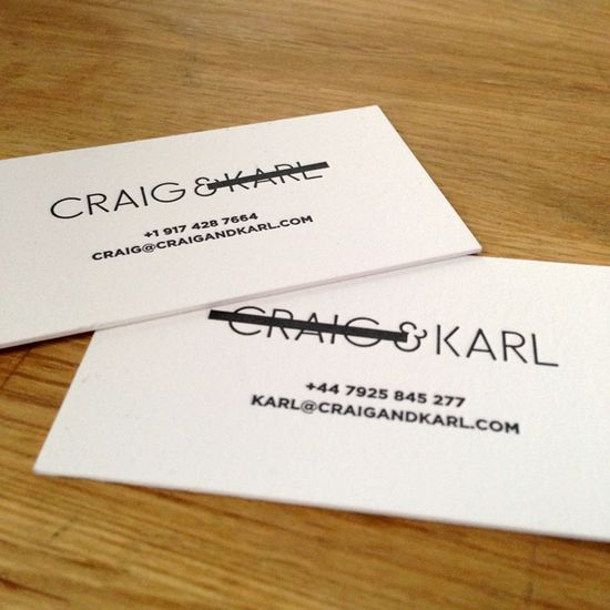 clever biz cards for partners