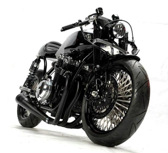 T Mobile CB750 Cafe Racer ~ Return of the Cafe Racers