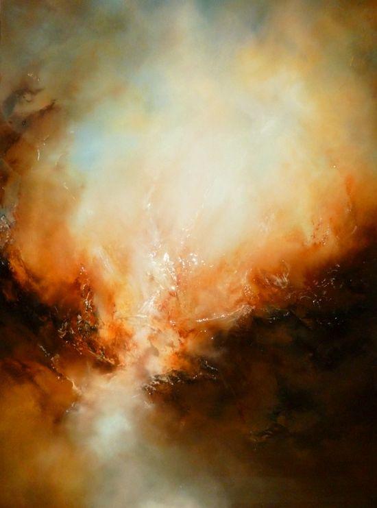 "Saatchi Online Artist: Simon Kenny; Oil, 2012, Painting ""Deliverance""."