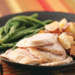 Moist & Tender Crockpot Turkey Breast Recipe | Taste of Home Recipes