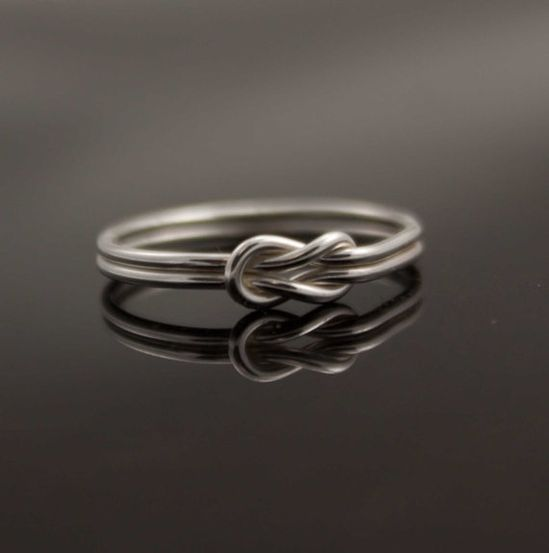 infinity ring.