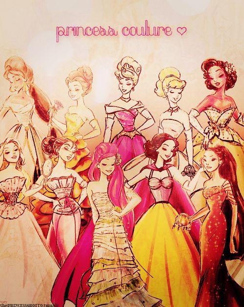 Disney Princess Couture ?