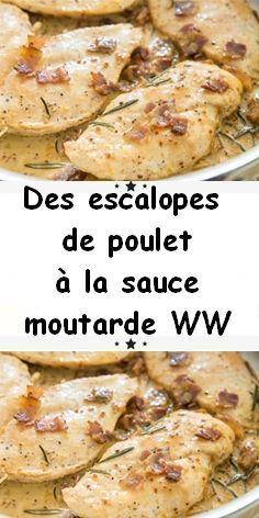 Une des recettes les plus populaires sur le site Recette Plat est cette recette des escalopes de poulet à la sauce moutarde. Elle est facile à préparer et ne demande pas des compétences particulières pour être réussie.