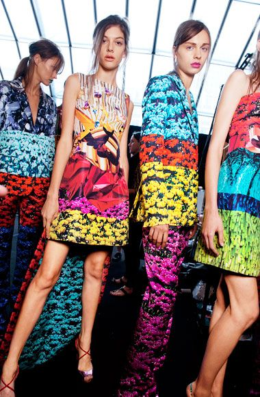 We love this Spring/Summer collection by Mary Katrantzou SS12