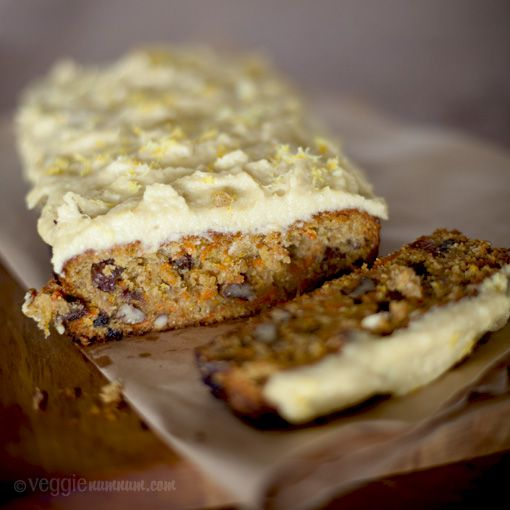 vegan orange carrot cake with cashew cream frosting #dessert #vegan