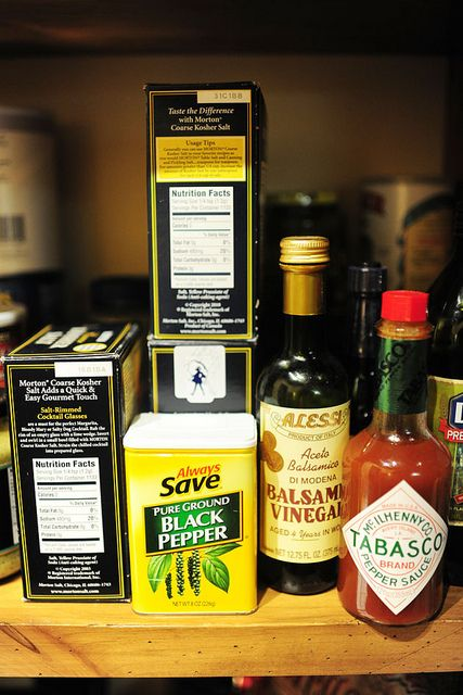 How to stock a pantry. Great basic advice, for ready cooking!