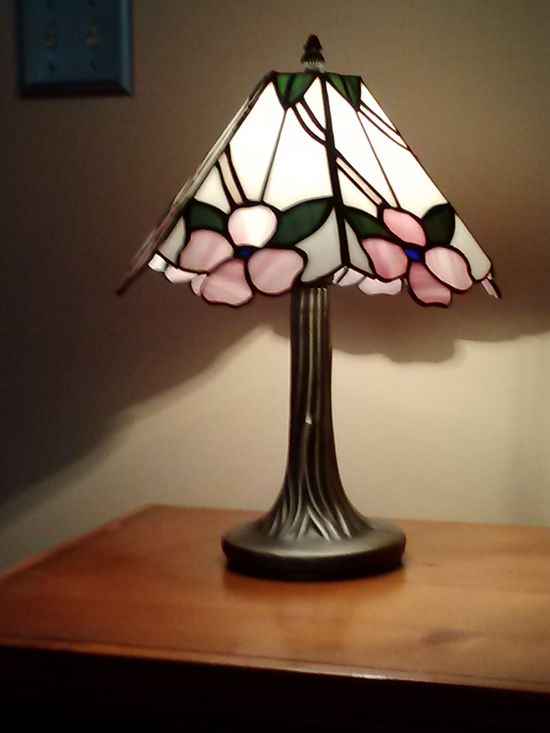 Dogwood Lamp turned