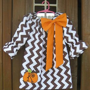 Bodacious Bow Peasant Dress Sewing Pattern 0m - 12 girls YouCanMakeThis.com