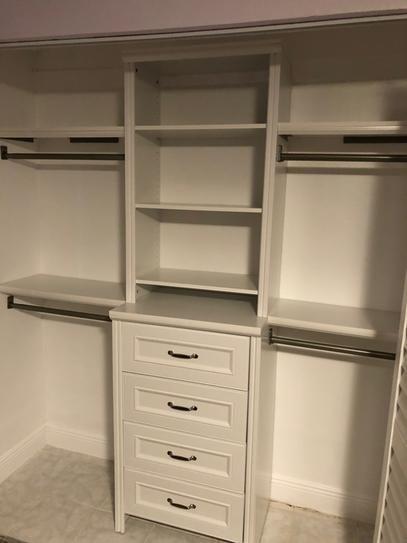 New closet  Board