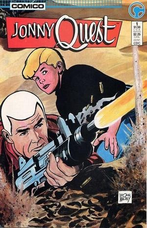 Old cartoon and comic Jonny Quest
