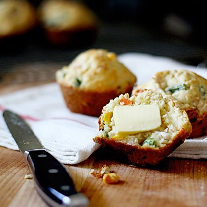 Easy Chicken Pot Pie Muffins
