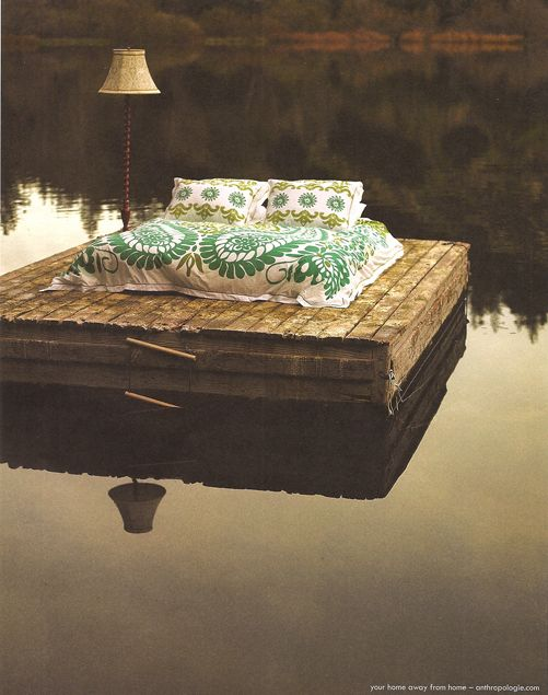 "Dock as ""water bed"""