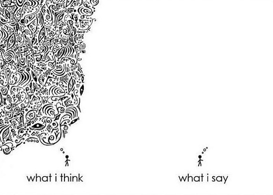 What I Think, What I Say