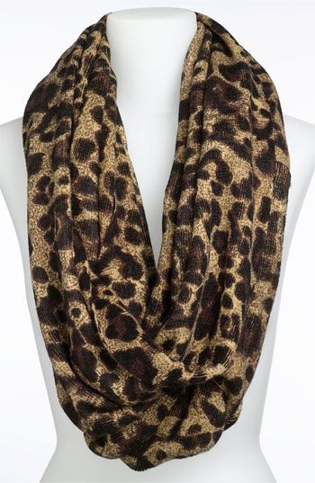 MK animal print infinity scarf at nordstrom.