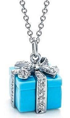 Enamel & Diamond Pendant by Tiffany & Co