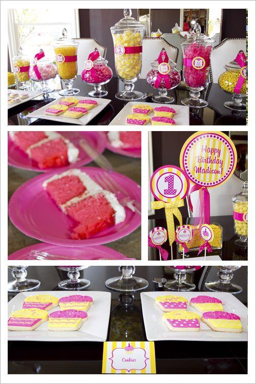 Cute party ideas.