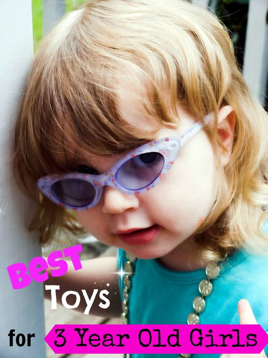 Best Toys for 3 year old girls:)