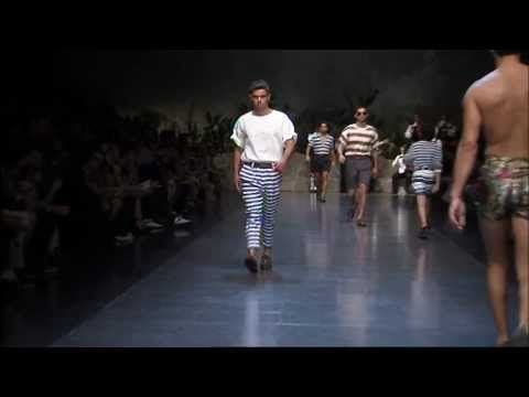 Dolce Summer 2013 Mens Fashion Show