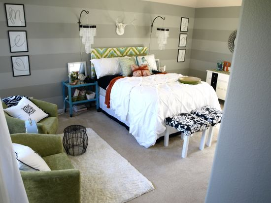 Funky Fresh Master Bedroom - Bedroom Designs - Decorating Ideas - HGTV Rate My Space