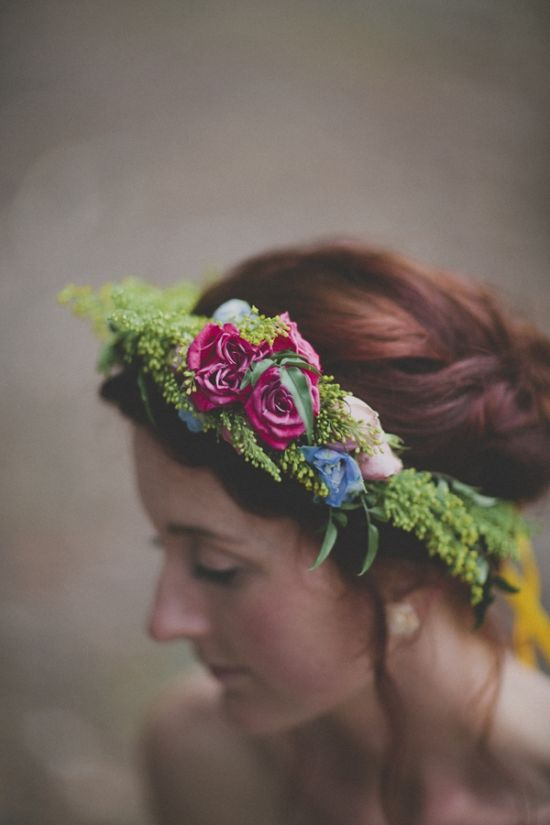lovely floral crown // photo by Still Love