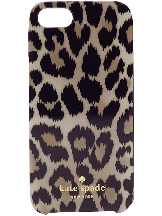 kate spade leopard iphone 5 case