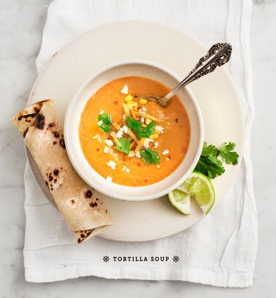 Tortilla Soup by Love & Lemons