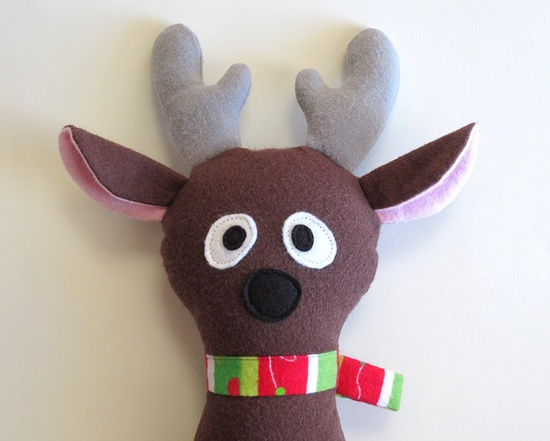 Applique a Reindeer