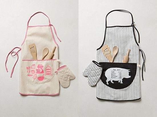 Love!!! Kids Apron Set available at www.anthropologie...